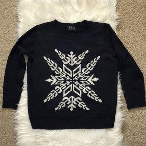 ANTHROPOLOGIE POL Snowflake Sweater